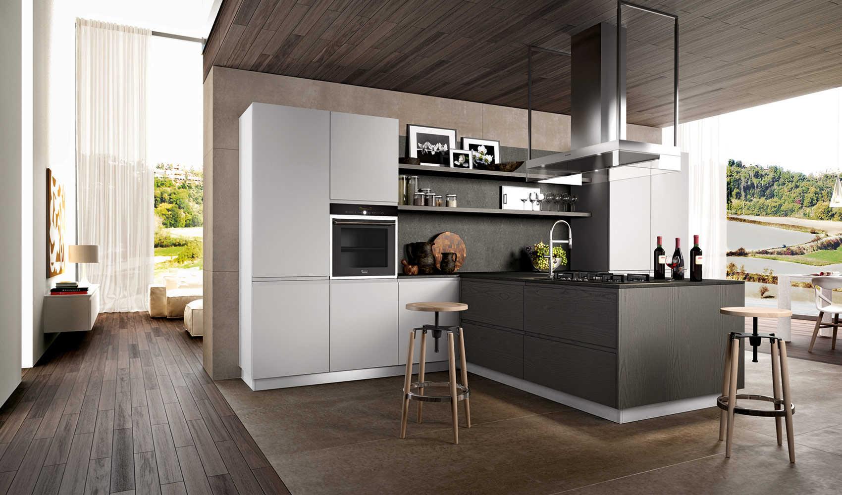 Pavimento cucina moderna jh25 regardsdefemmes - Pavimento per cucina ...