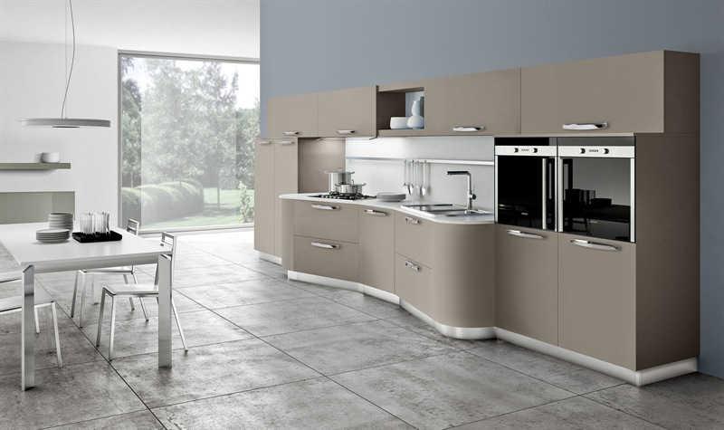 Cucine Moderne » Cucine Moderne Bianche Lucide ...