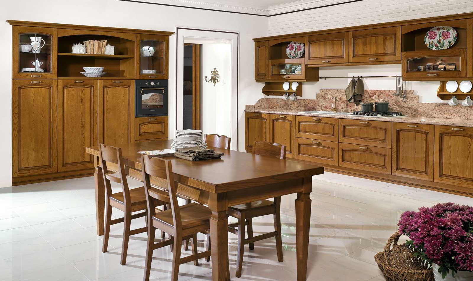 Emma cucina classica negozio arredamento treviso padova for Torino arreda contract