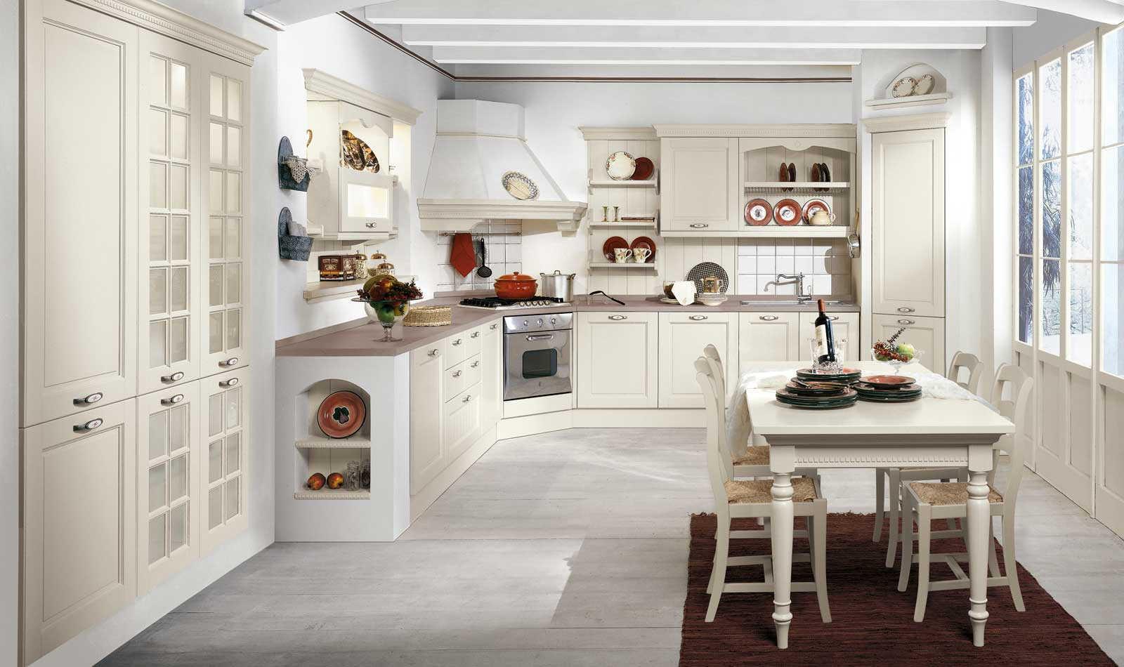 Virginia: la cucina classica - Negozio Arredamento